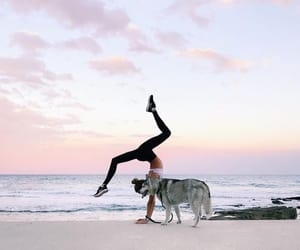athletic, beach, and dance image