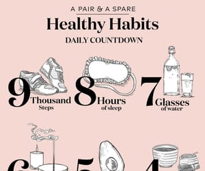 fitness, healthy, and habits image
