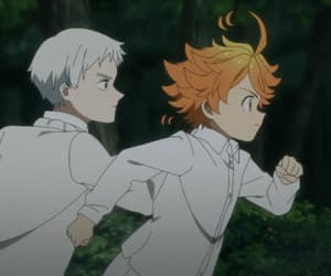 anime, norman, and the promised neverland image