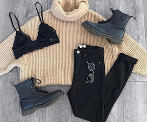 fashion, sweater, and moda image
