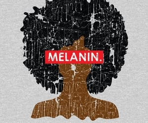negro, melanina, and ​amor image