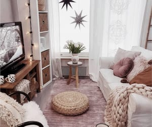 blankets, coffee, and decor image