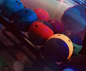 aesthetic, bowling, and fun image