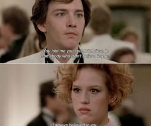duckie, Molly Ringwald, and movie image