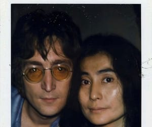 70s, beatles, and couple image