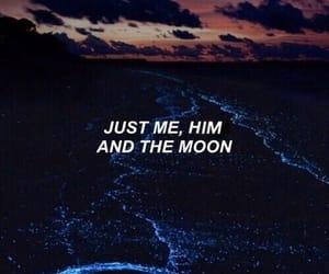 quotes, moon, and Lyrics image