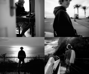 black&white, cool, and justin bieber image