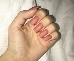 nail, nails, and peachy image