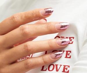 nails, girl, and nail polish image