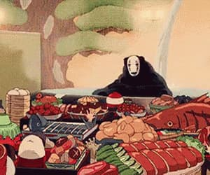 90s, anime food, and aesthetic image