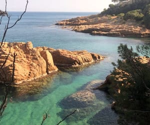 sea, spain, and travel image