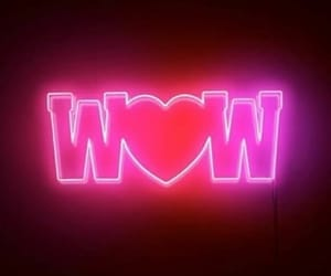 aesthetic, pink, and wow image