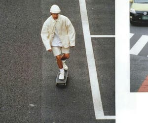 skate and white image
