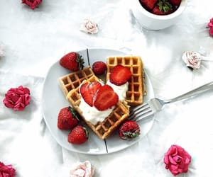 food, drink, and flowers image