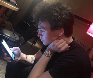 bracelet, guy, and iphone image
