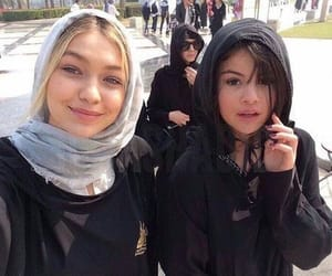 selena gomez, gigi hadid, and selenagomez image