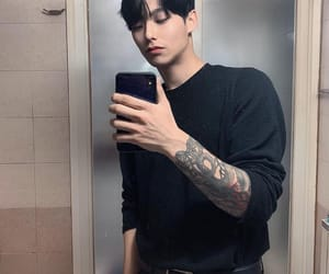 boy, ulzzang, and Tattoos image