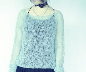etsy, cropped sweater, and thin sweater image