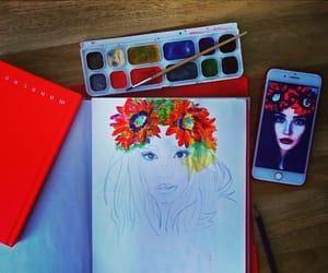 art, fashionillustration, and fashionart image