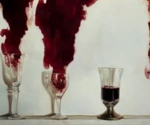 blood, red, and wine image