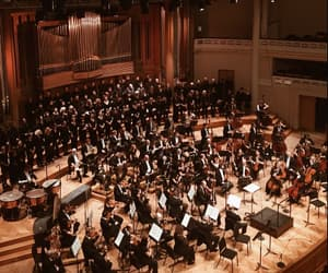 music, orchestra, and passion image