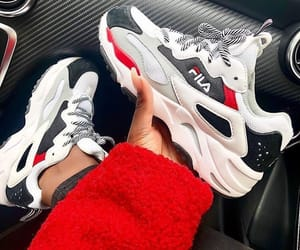 Fila, shoes, and sneakers image