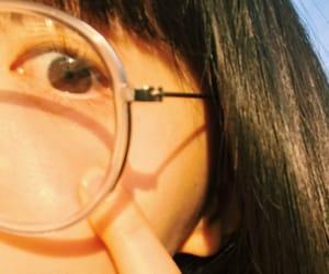 eye, 青春, and フィルムカメラ image