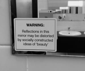 beauty, mirror, and quotes image