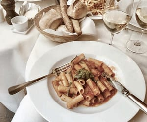 drinks, pasta, and fresh taste image