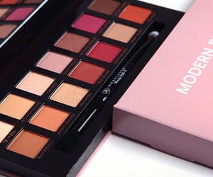 cosmetics, makeup, and palette of shades image