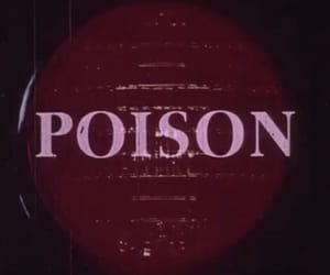 poison and red image