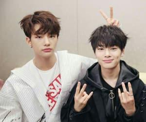 Chan, hyunjin, and minho image