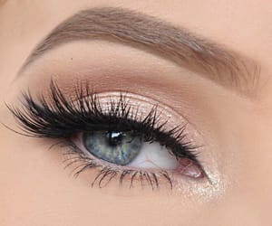 beauty, fashion, and eyes image