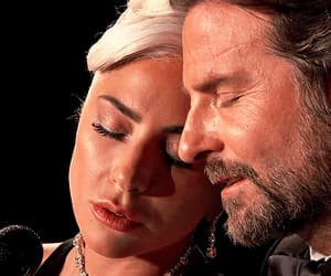 couple, Lady gaga, and bradley cooper image