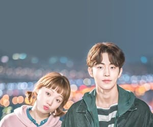 nam joo hyuk, lee sung kyung, and kdrama image