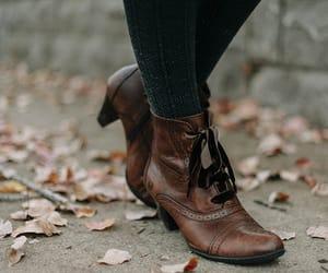 shoes, fashion, and autumn image