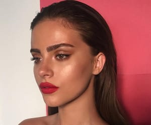 beautiful, brunette, and elegant image