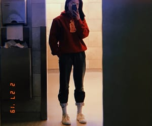 aesthetic, canada, and outfitinspo image