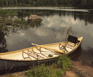 adventure, canoe, and cottage image