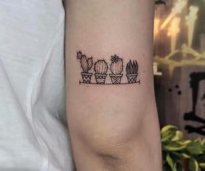 cactus and tatto image