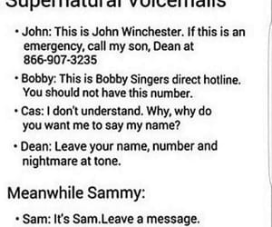 bobby, funny, and supernatural image