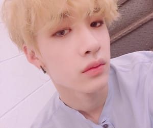 blonde, kpop, and bang chan image