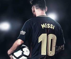 Barca, football, and leo messi image