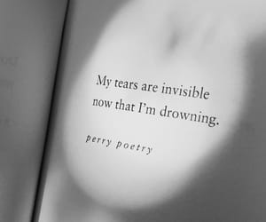 caption, drowning, and poem image