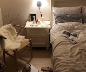 apartment, bedroom, and inspo image