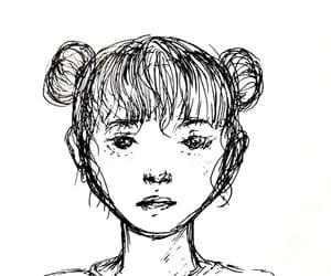aesthetic, female, and manga image