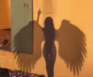 alternative, angel, and shadow image
