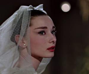 audrey hepburn, wedding, and vintage image