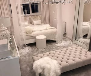 bedroom, white, and goals image
