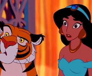 aladdin, tigger, and animation image